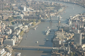 Helicopter Tour over London Bridge