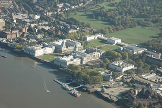 Helicopter Tour over Royal Naval College